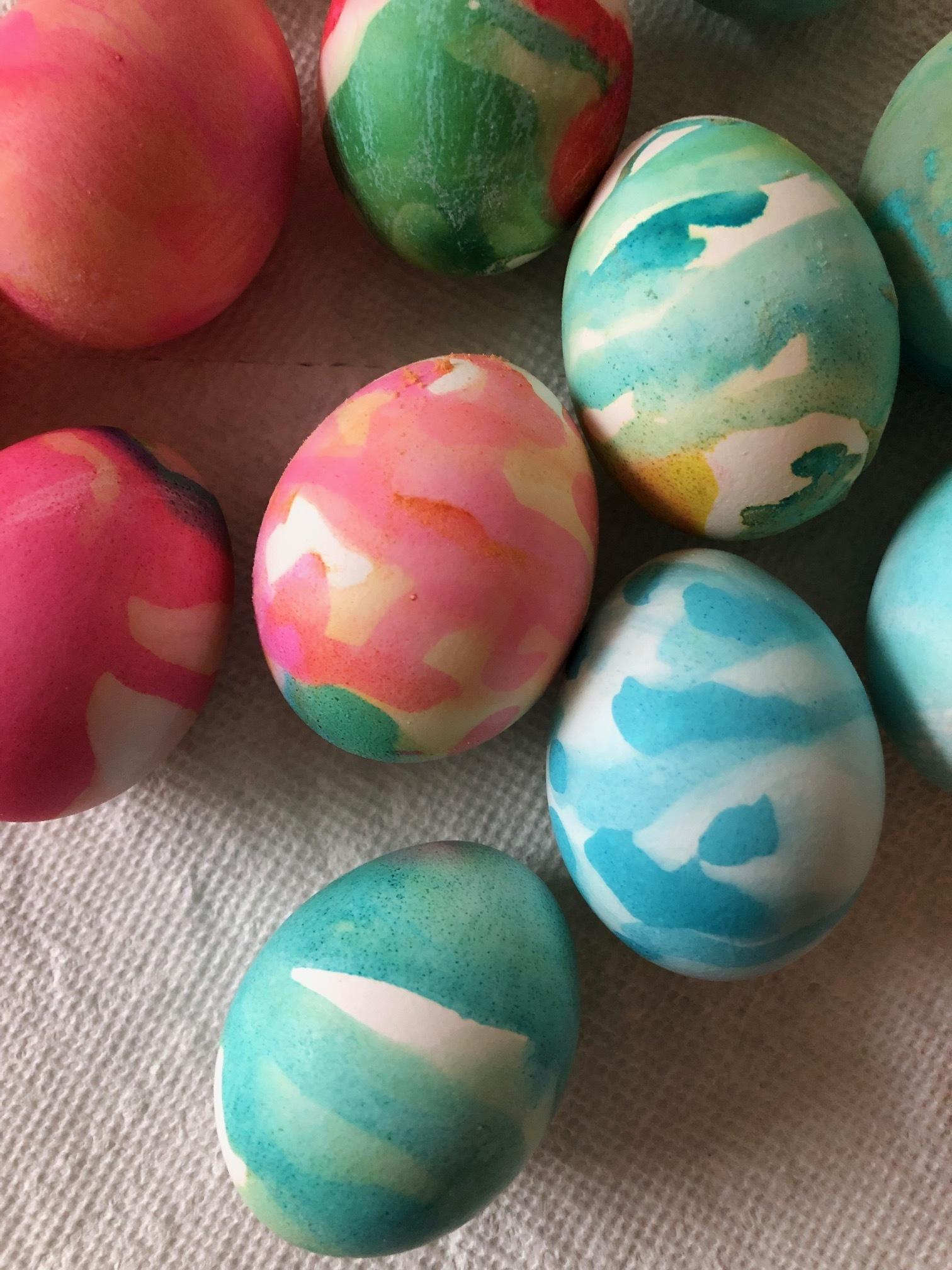 Many Eggs Close-up
