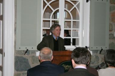 Book Launch , 'A Rich Spot of Earth': Thomas Jefferson's Revolutionary Garden at Monticello , Montalto, April 23. 2012. Photo by Carrie Douglas