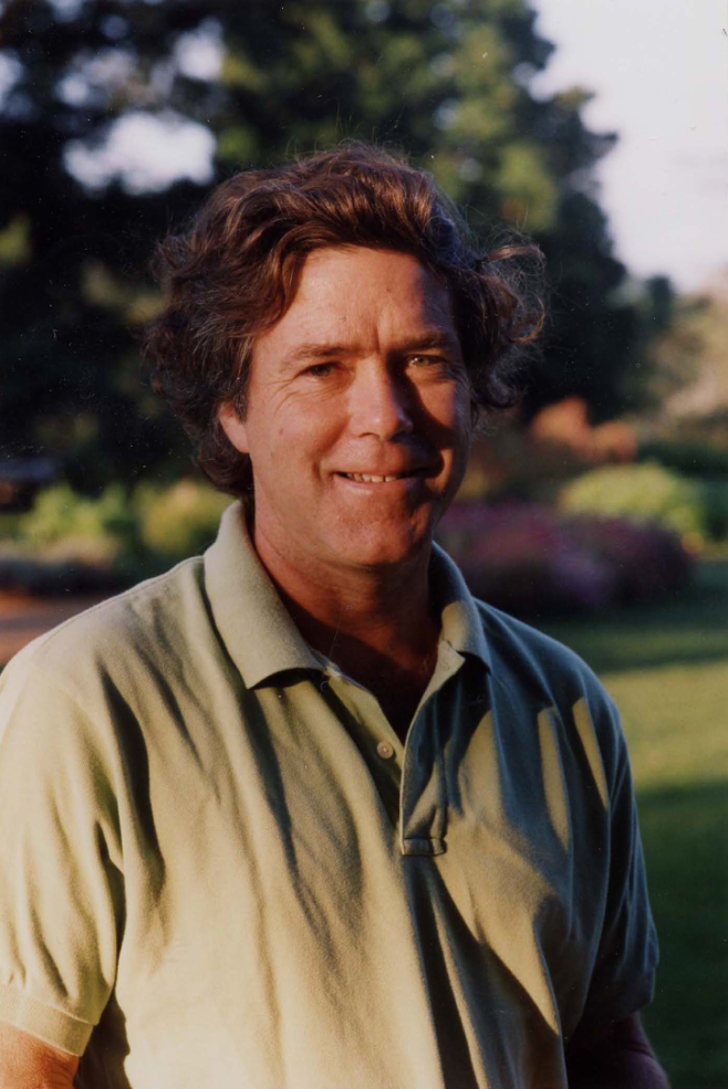 Peter Hatch, Summer, 2004. Courtesy of Thomas Jefferson Foundation