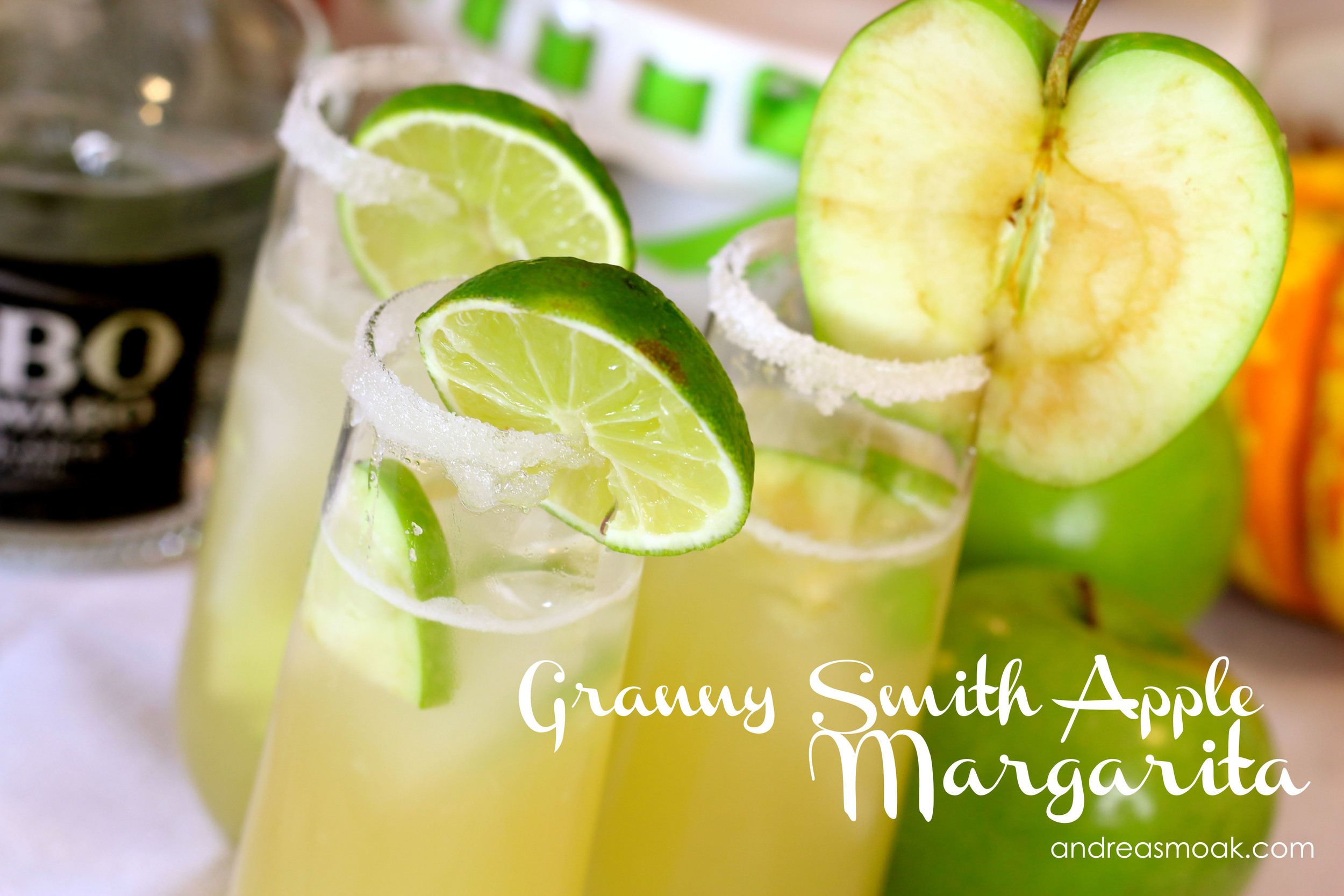 Granny Smith Apple Margarita