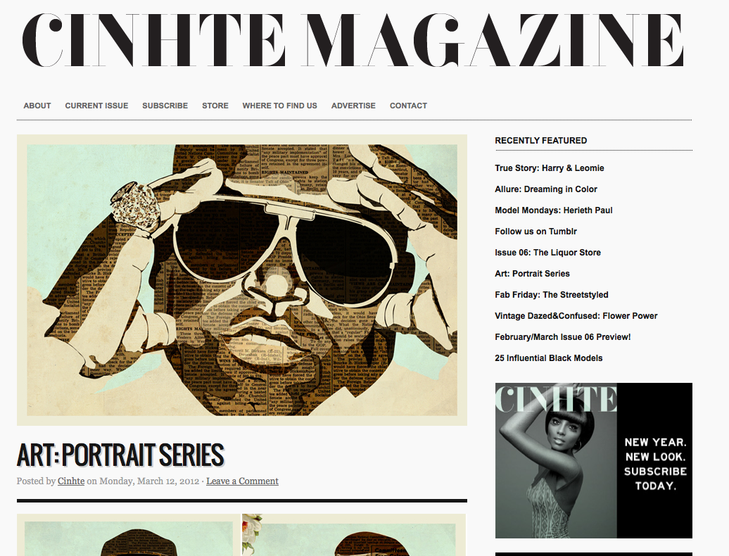 Featured in Cinhte Magazine