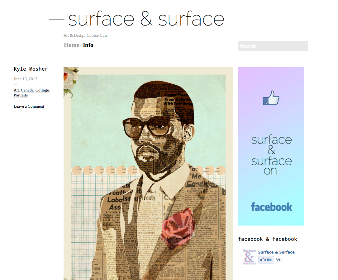 Surface & Surface feature.