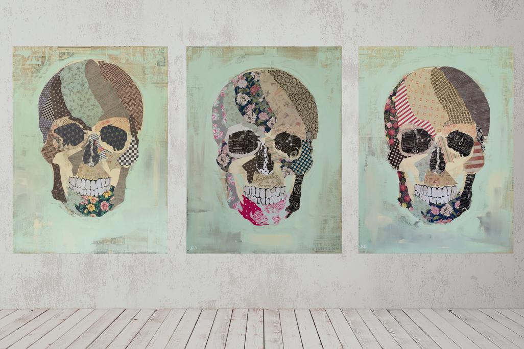 """""""belle_mort.jpg"""" triptych (2018)"""
