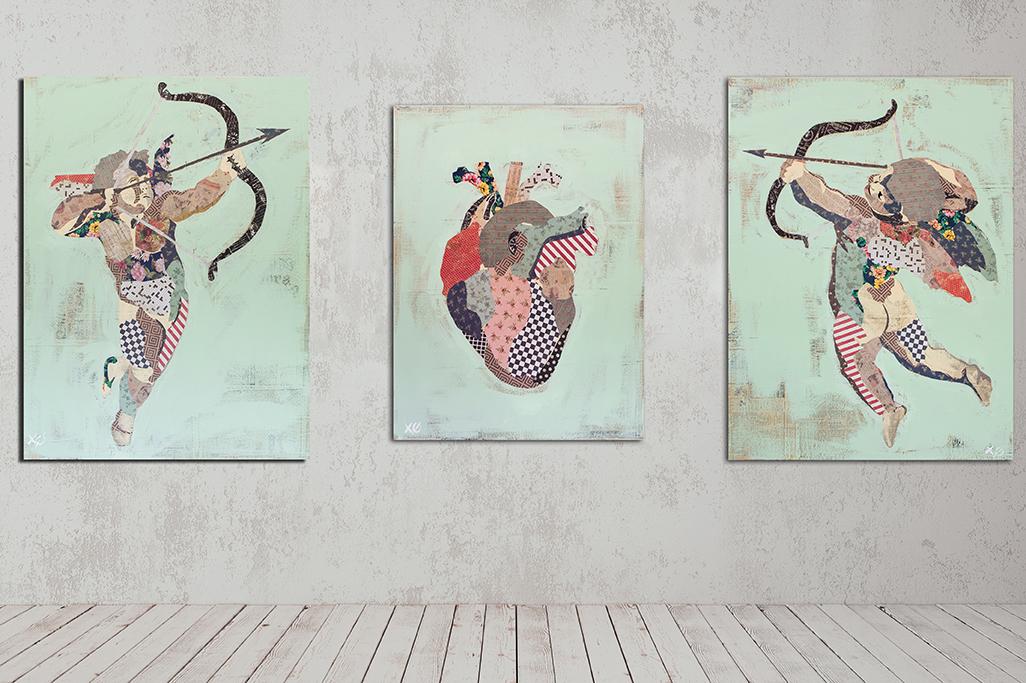 """Love.Me"" Triptych (2018)"