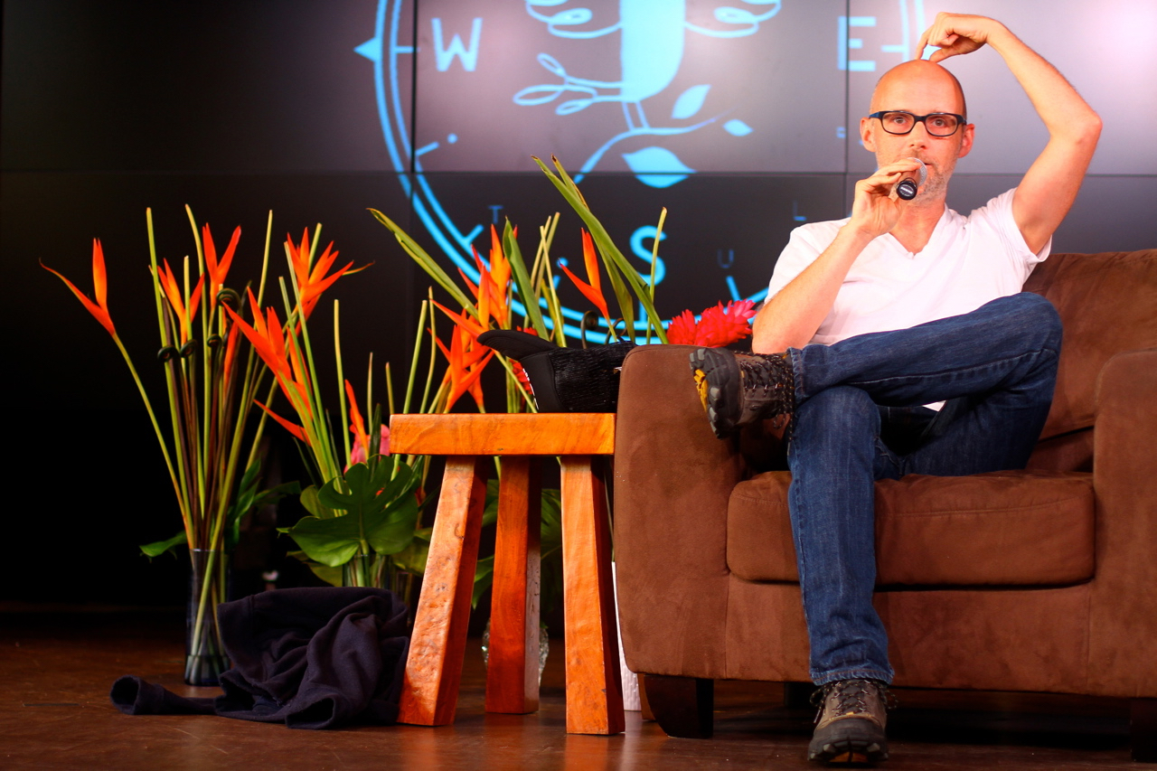 Moby Talks About Music as Therapy | Wanderlust Oahu 2014 | Photo by Amanda Michaels-Zech
