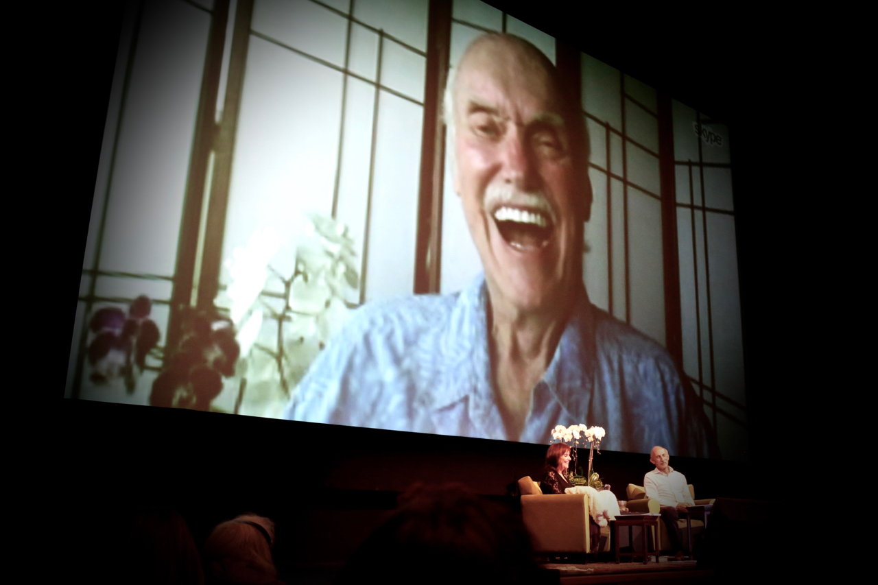 I am Loving Awareness | Ram Dass with Trudy Goodman and Jack Kornfield | For InsightLA | Living with a Joyful Spirit and a Wise Heart | Photo by Amanda Michaels-Zech