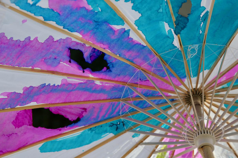 Paper Umbrella 2 | Santa Monica, California | Photo by Amanda Michaels-Zech