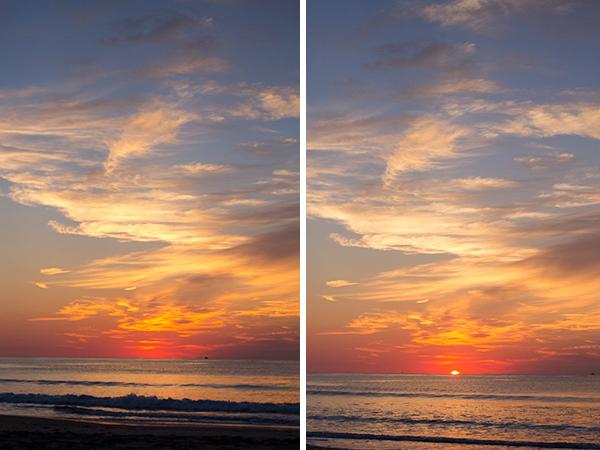 a sunrise over Narragansett Beach in RI  Rhode Island Beach Photography