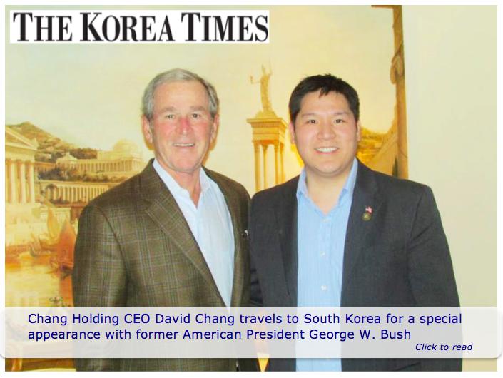 Chang Bush In Korea