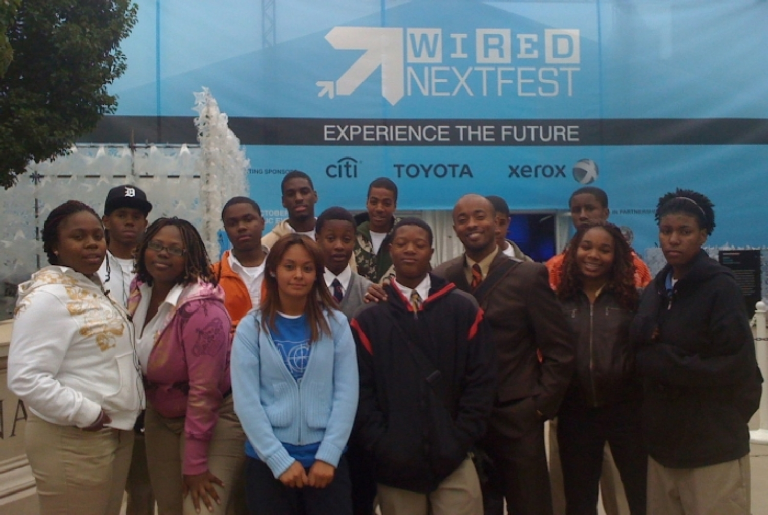Robotics + entrepreneurship club joint field trip to wired next fest, chicago, il