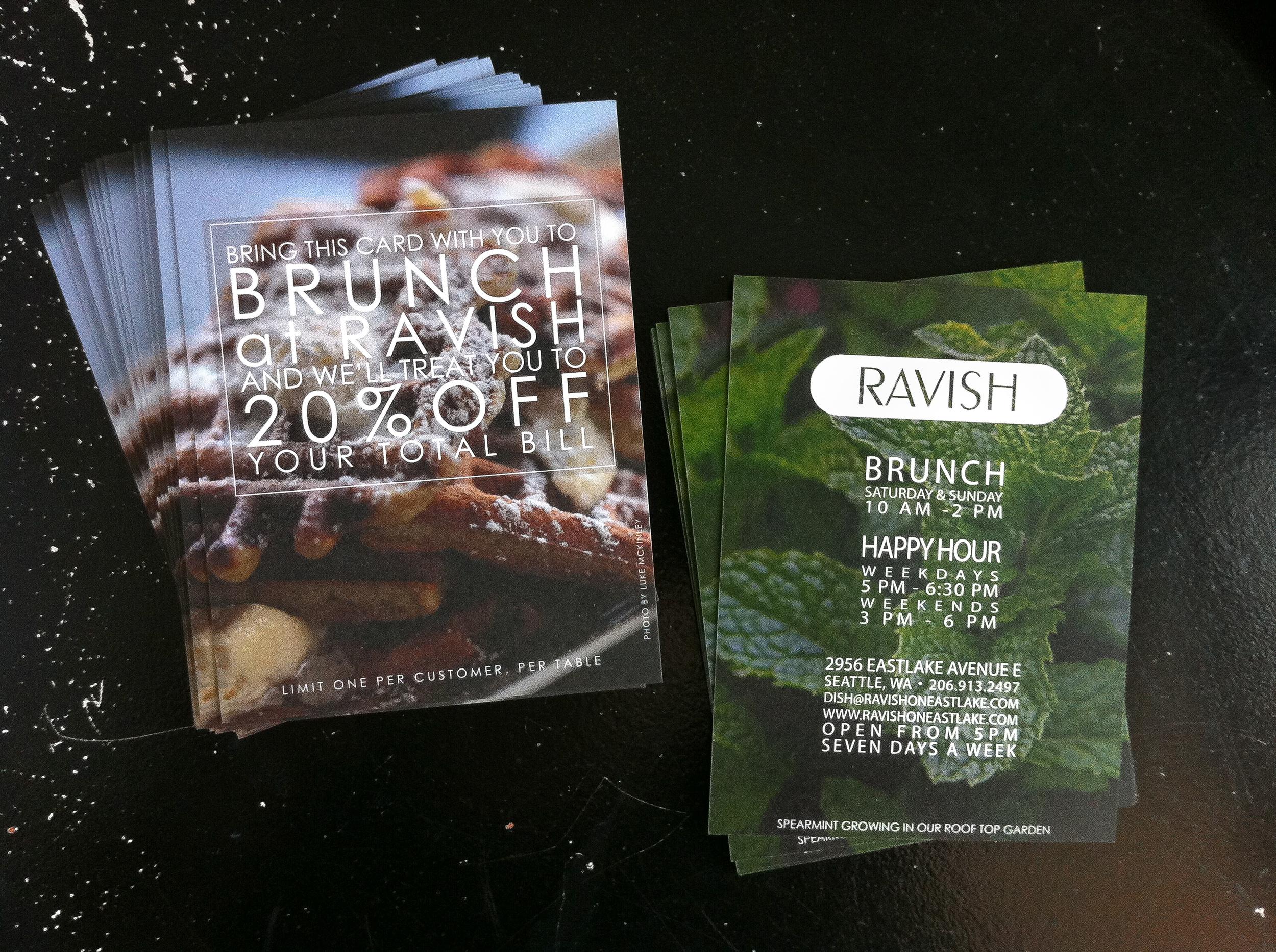 promo card | ravish