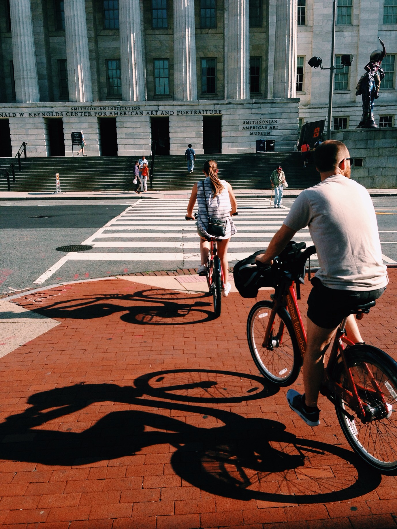 We utilized the city's Capital Bikeshare to get around the city.