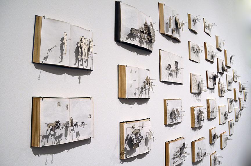 Installation in Museum of Contemporary Art (Macba) / Barcelona