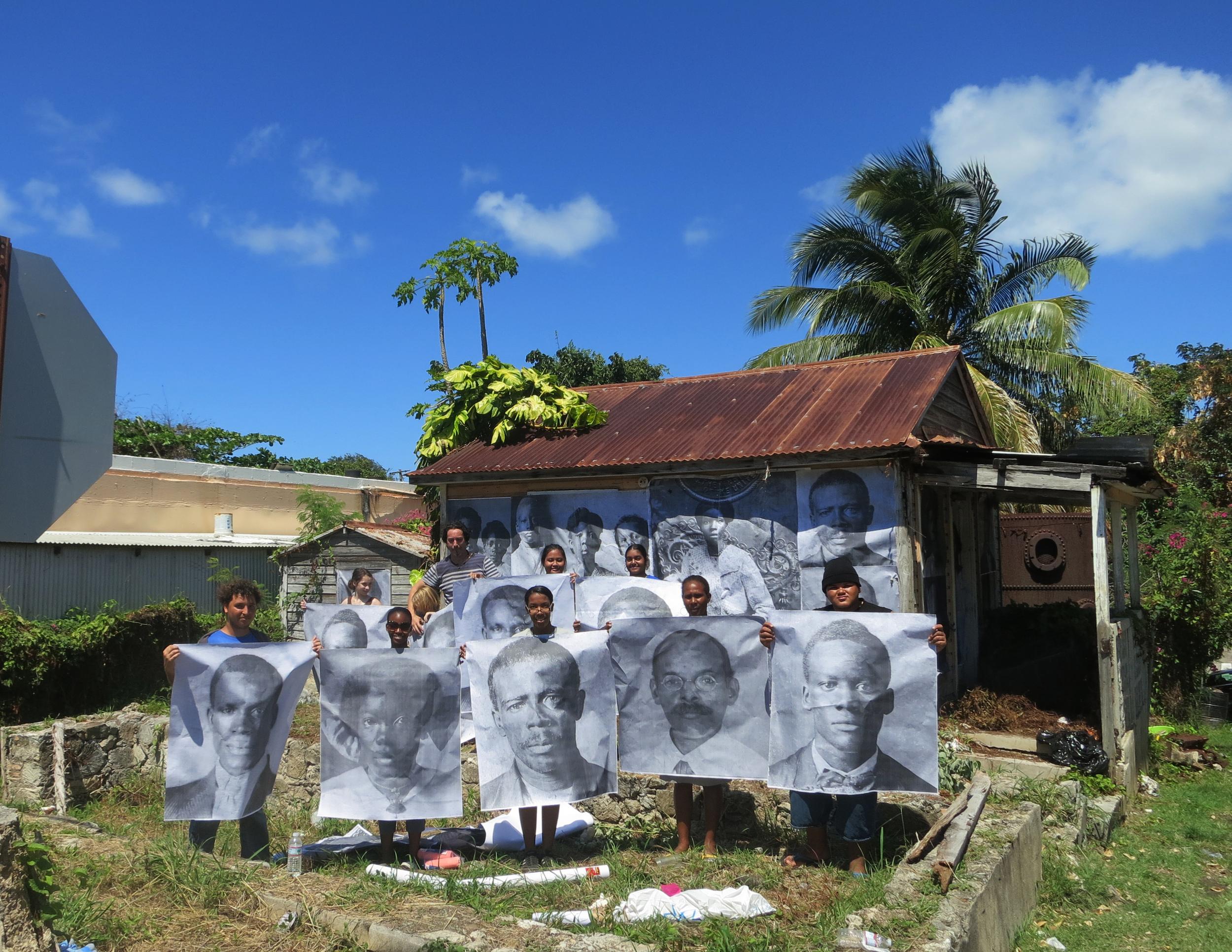 "Project ""Transfer""/ Public Art. St Croix USVI"