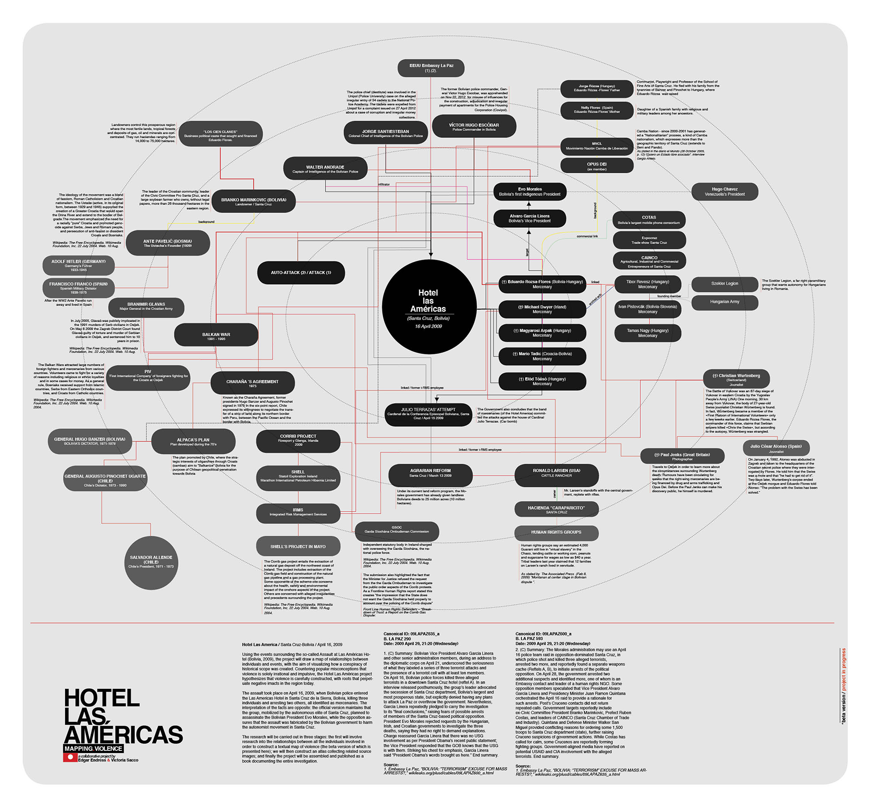 Hotel Las Americas / mapping violence (beta map in collaboration with Victoria Sacco) /  project link