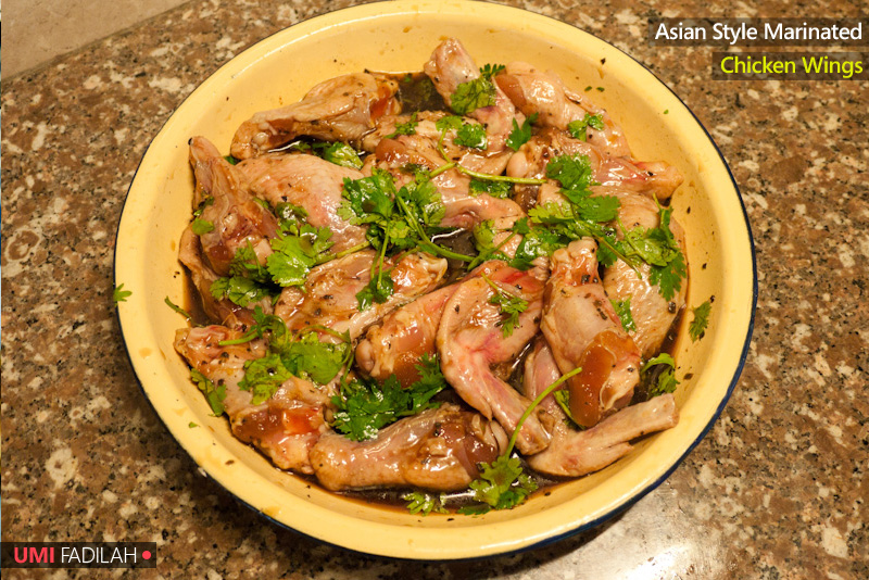 COOK: Asian-style Marinated Chicken Wings