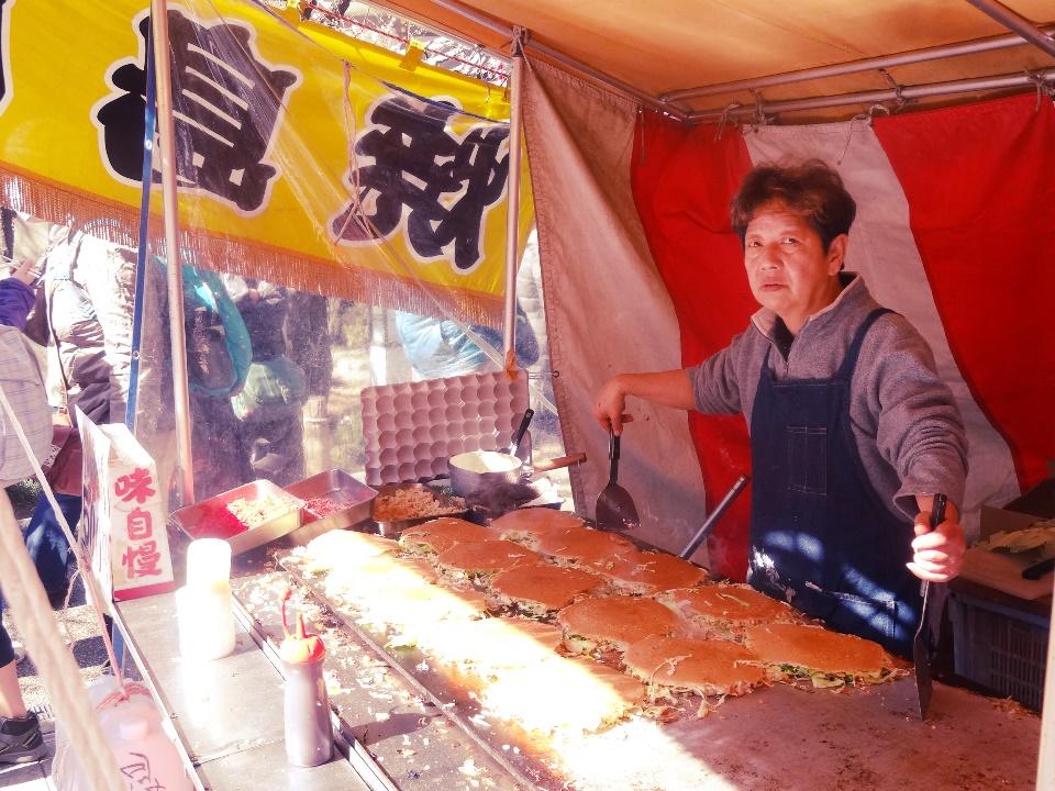 What seemed like hiroshima-style okonomiyaki