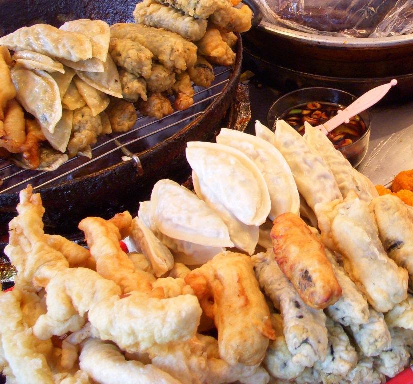 Twigim (튀김), Korean term for fritters