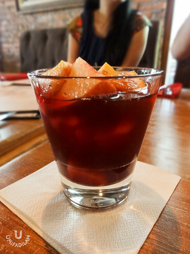 The infamous Sangria.