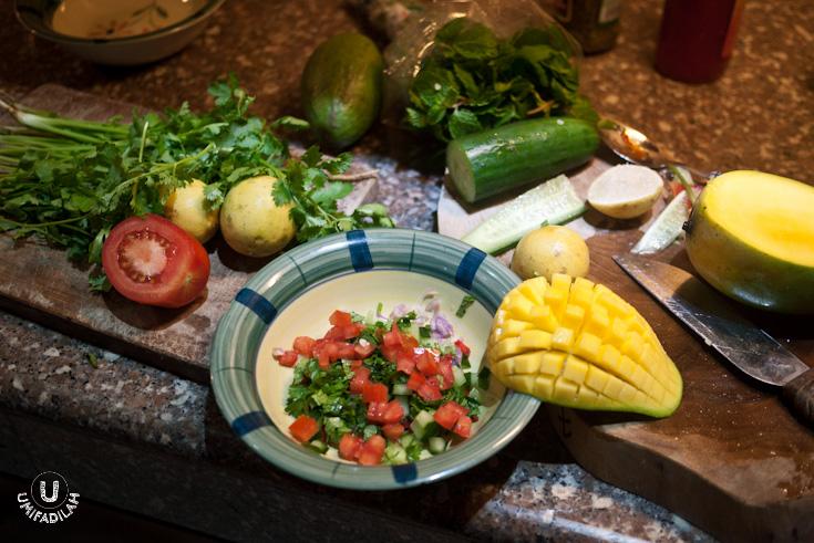 Preparing this Mango Salsa was a really fun thing to do ;)