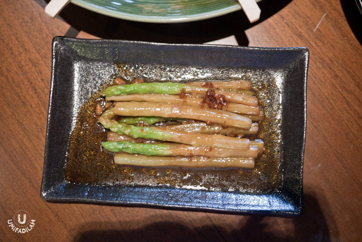 Asparagus Yaki – IDR 40.000