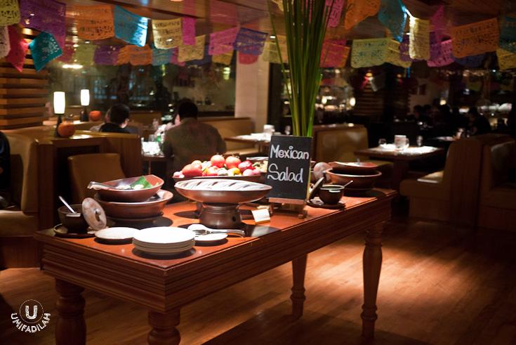 Mexican Salad buffet
