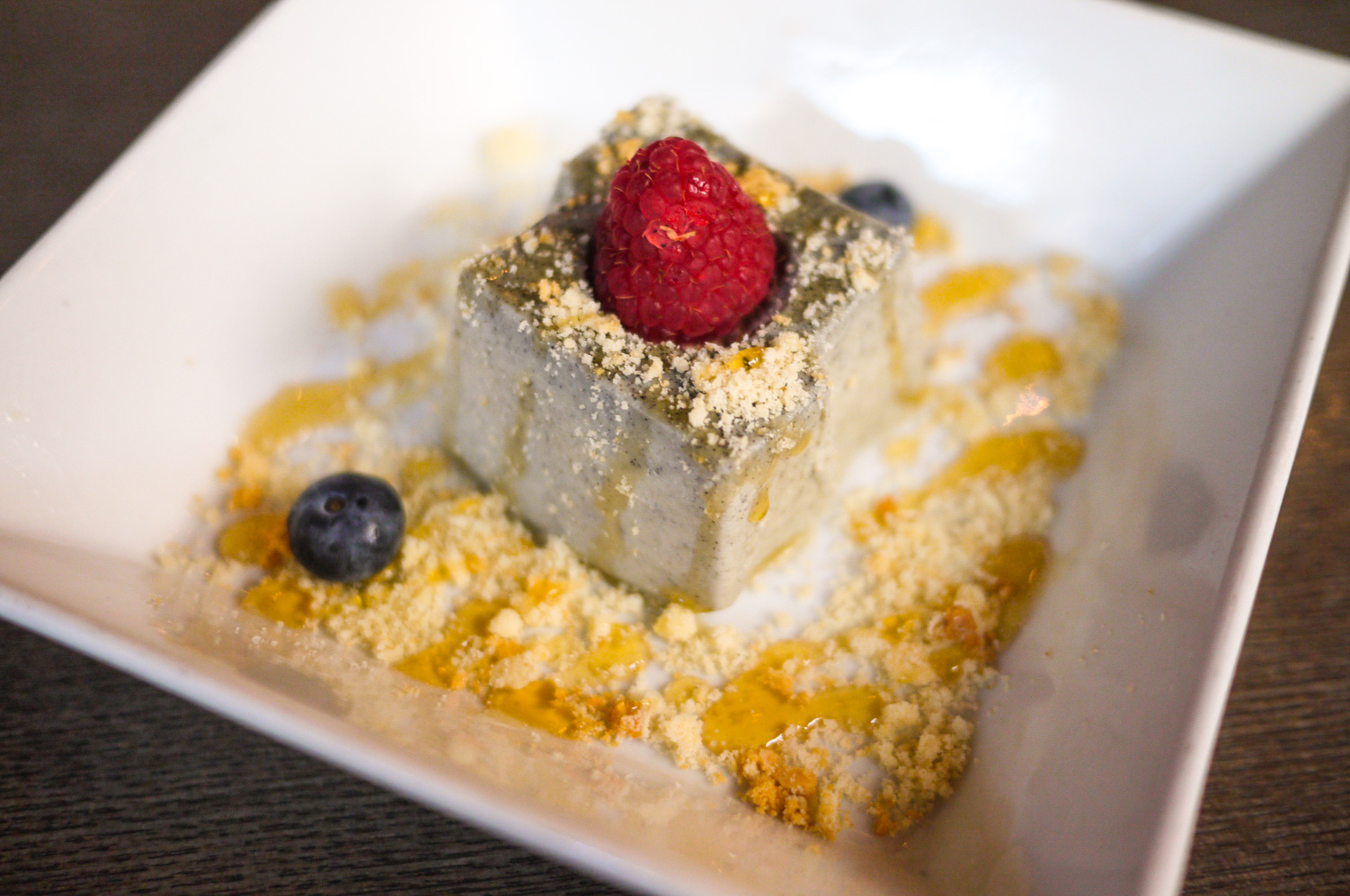 Barn Joo doesn't have much options when it comes to dessert, so don't get high hopes with their selection. We had  Black Sesame Mousse with berries and crumbs  and it was just okay. Not exactly the flavor I was looking for.