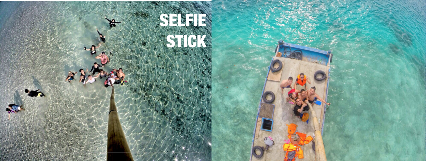 These photos were taken at a local beach on a small virgin island in Indonesia. Credit to: Febiliana Sari.