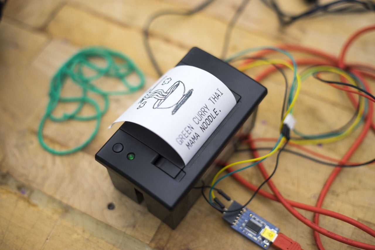 Adafruit Thermal Printer connected to laptop directly via FTDI Friend