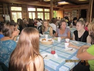 Missionary women's brunch...