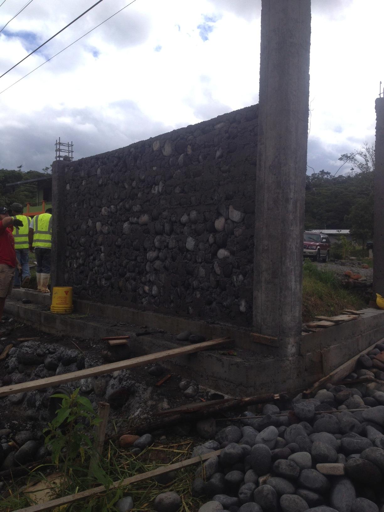 CDF Security Wall