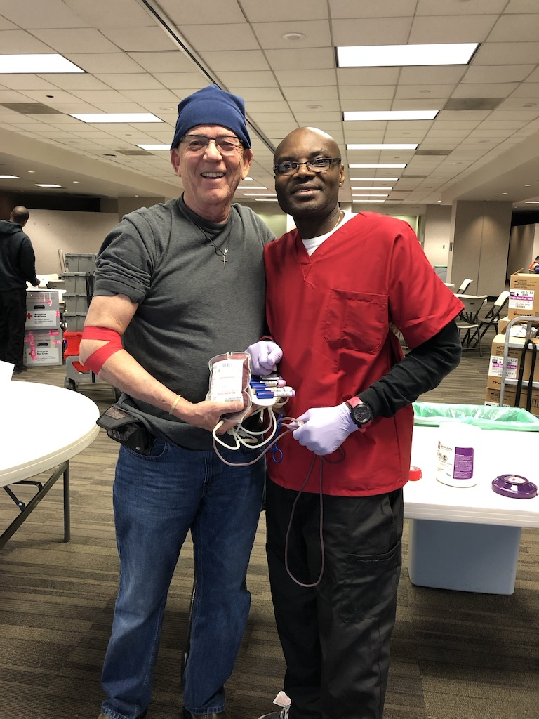Blood donation for the Atlanta Red Cross!