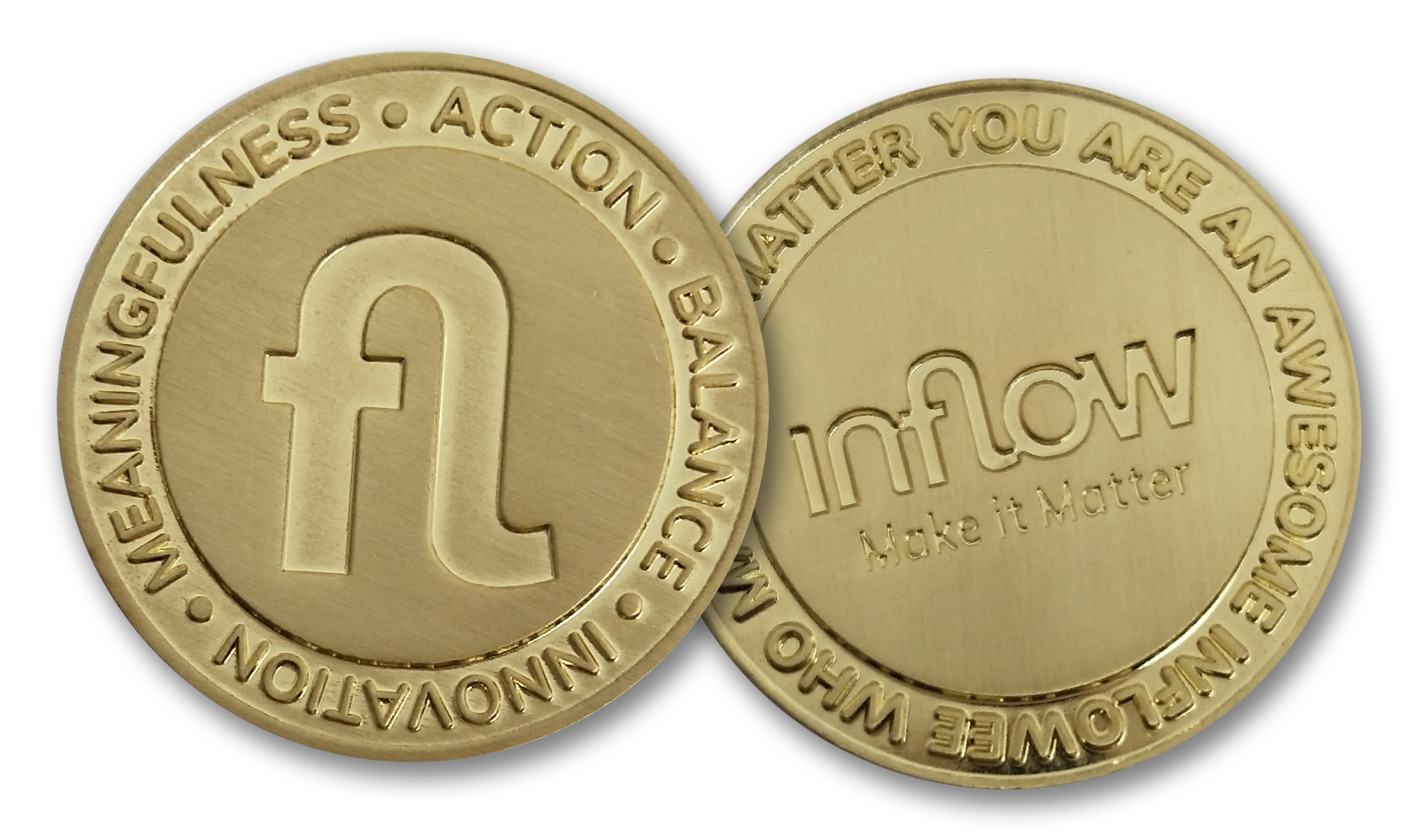 Inflow's Awesomeness Coin Award