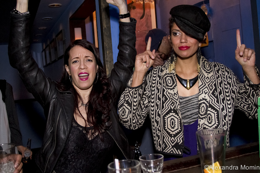 Miss Rebecca & DJ Natasha Diggs