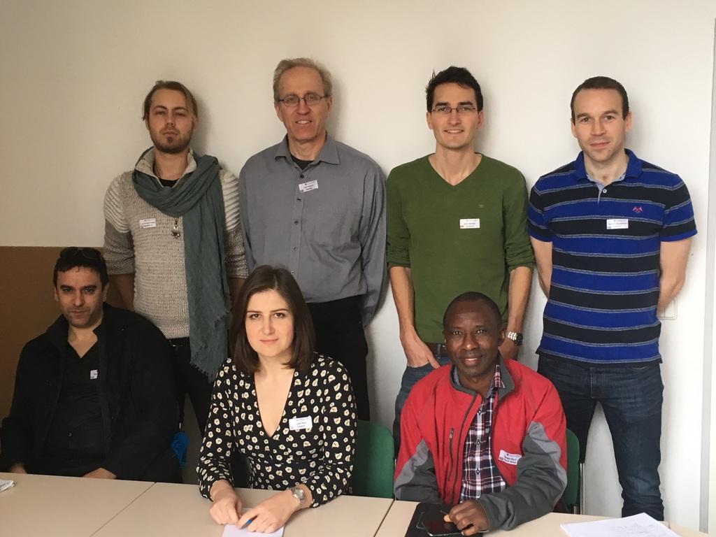 Die frisch gewählte IMMR Core Group