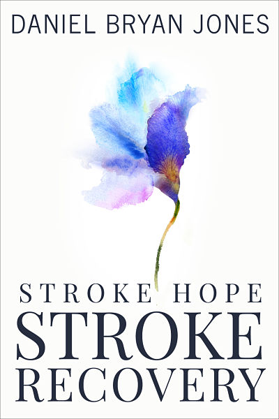 Indie author Daniel Bryan Jones' custom non fiction ebook cover design for his Stroke Hope Stroke Prevention series.