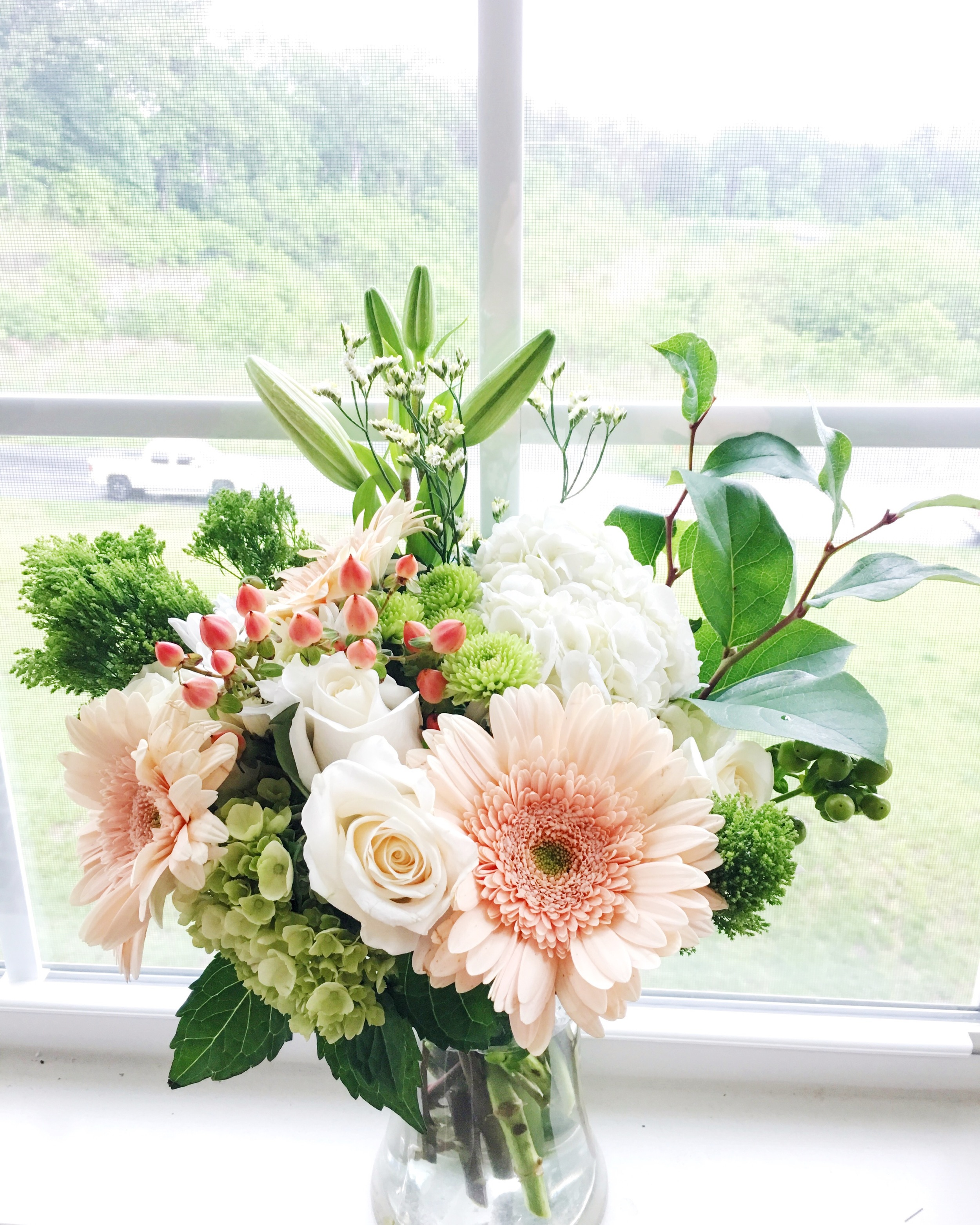 original bouquet I arranged