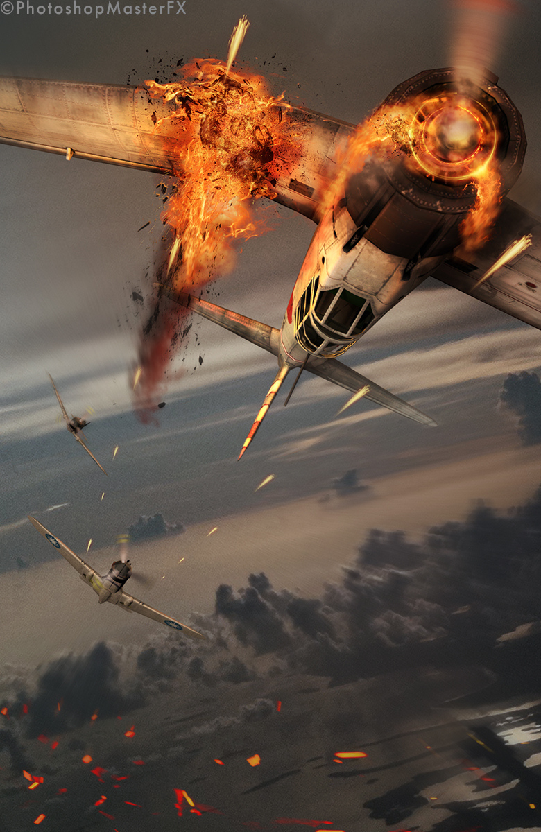 3D Compositing: Aerial Dogfight