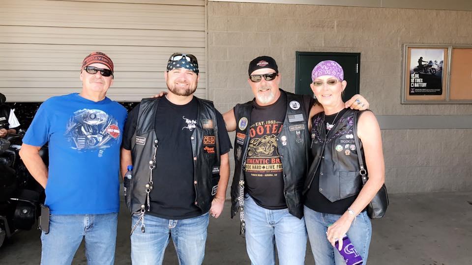 September 9, 2017 Curtis Walton Sponsored Wounded Vet Ride