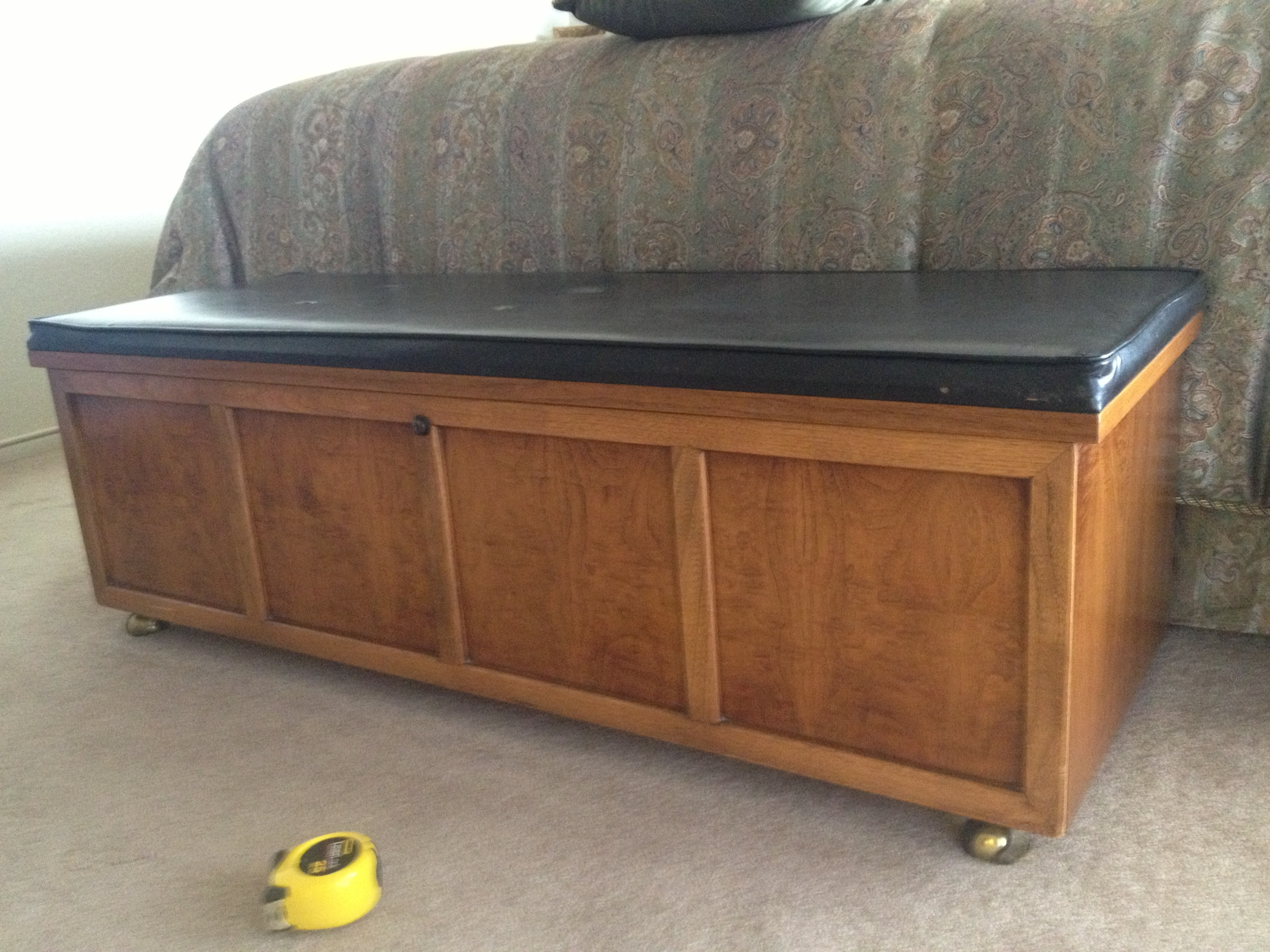 hope chest my client had since she was a little girl, just needed some up-dating