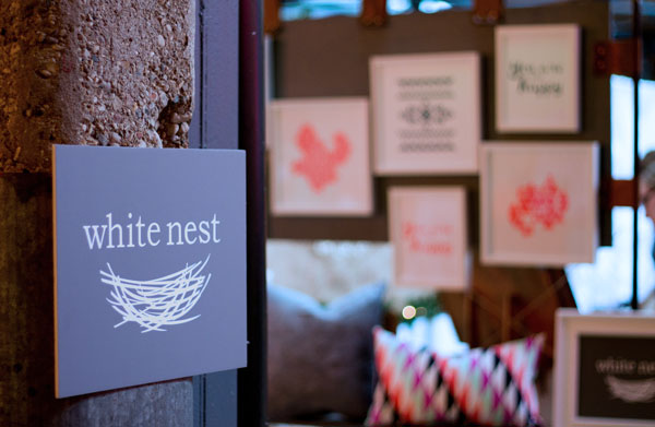White Nest Shop 's booth at our 2014 Holiday Show