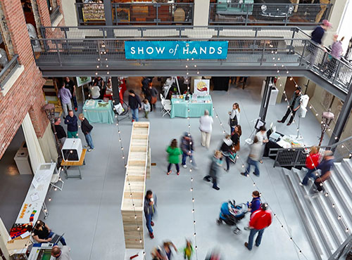 SHOW of HANDS Spring 2015 at  Architectural Artifacts