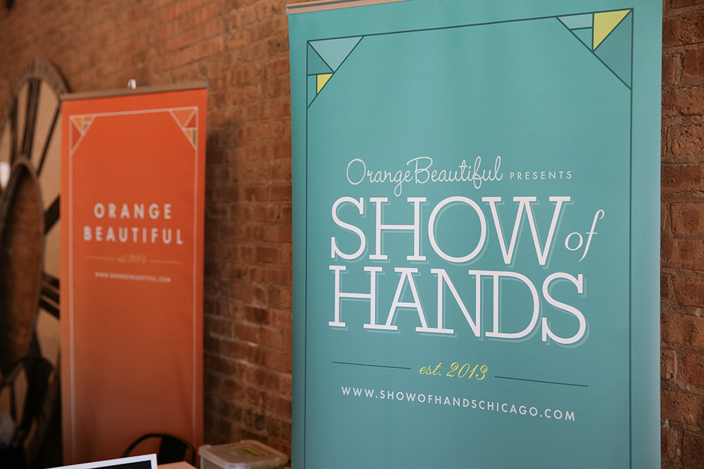 SHOW of HANDS Chicago | presented by OrangeBeautiful