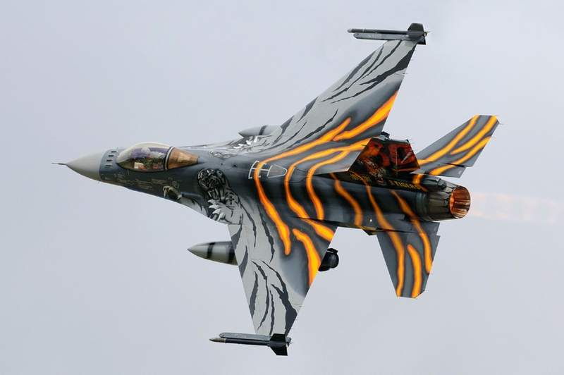 A catted-up F-16