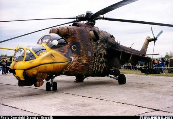 State of the art in helicopters
