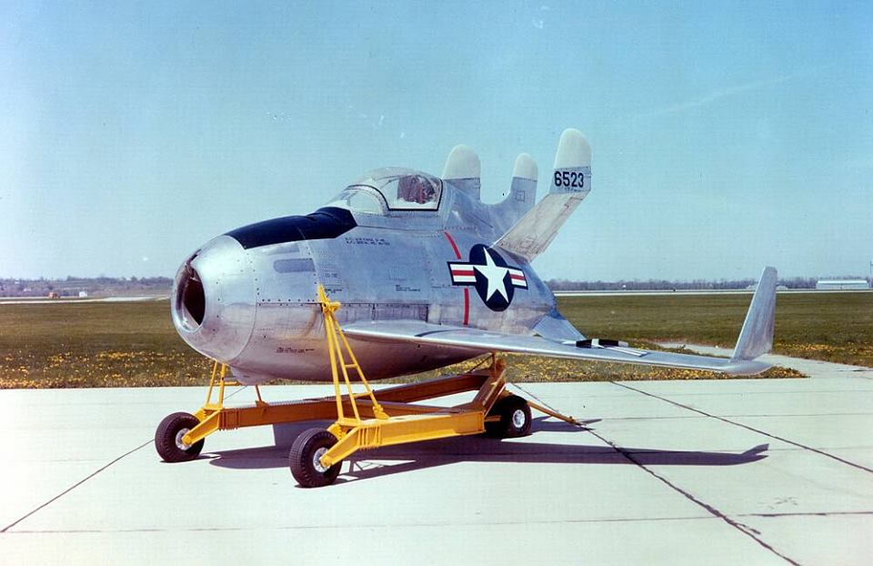 The totally badass McDonnell XF-85 Goblin: