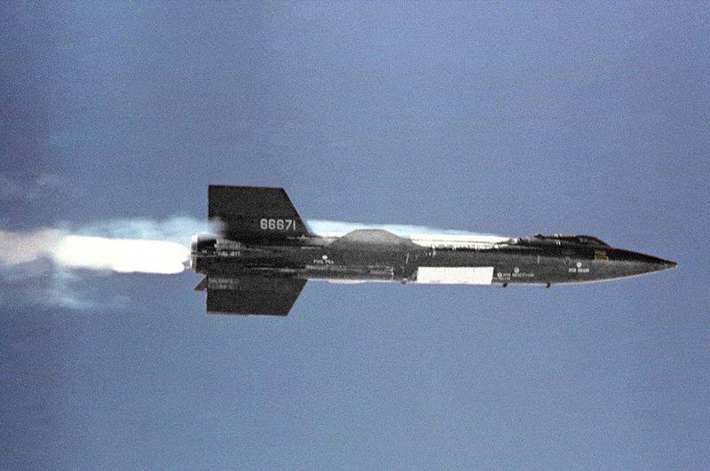 This is an X-15. It goes 4,520 mph. It I had one, I could now go pick up the milk in 0.87 seconds.