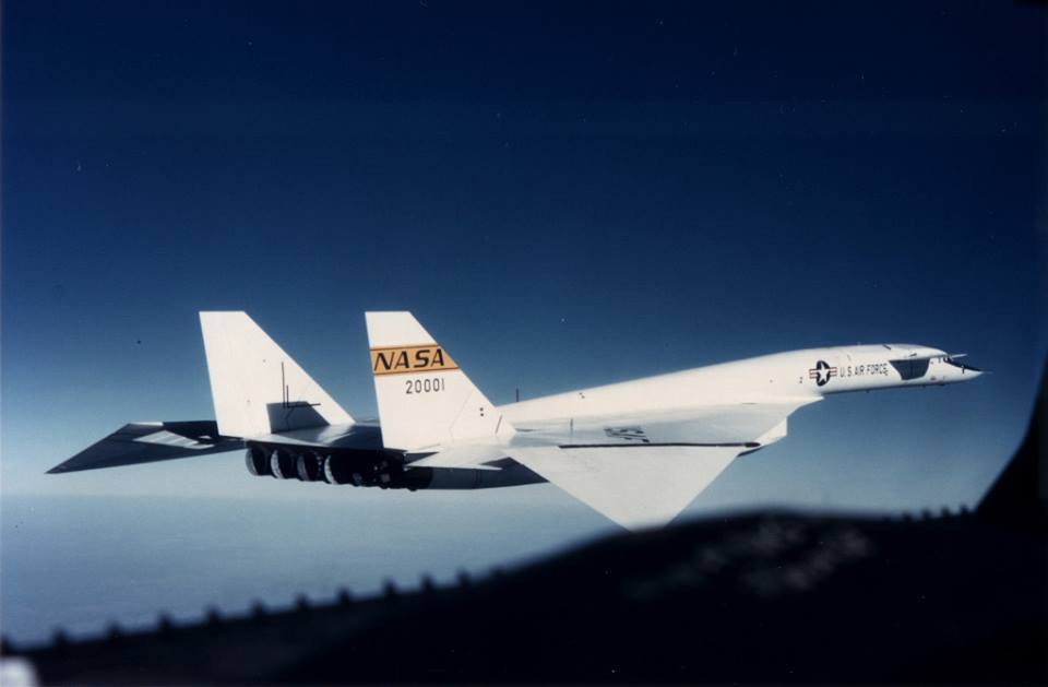 XB-70 Valkyrie (designed in the 1950s)