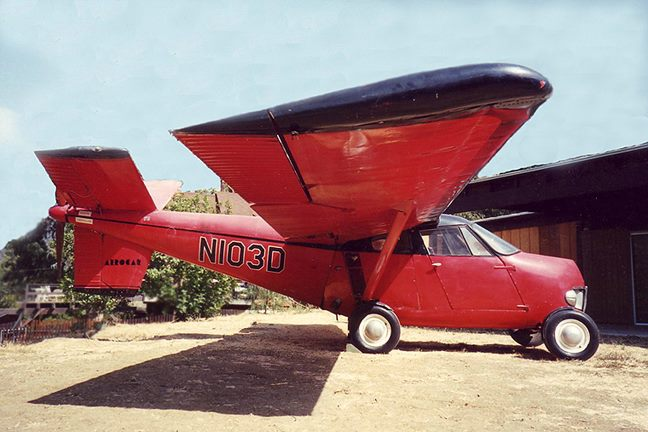 The first hybrid, the Taylor Aerocar (1949)