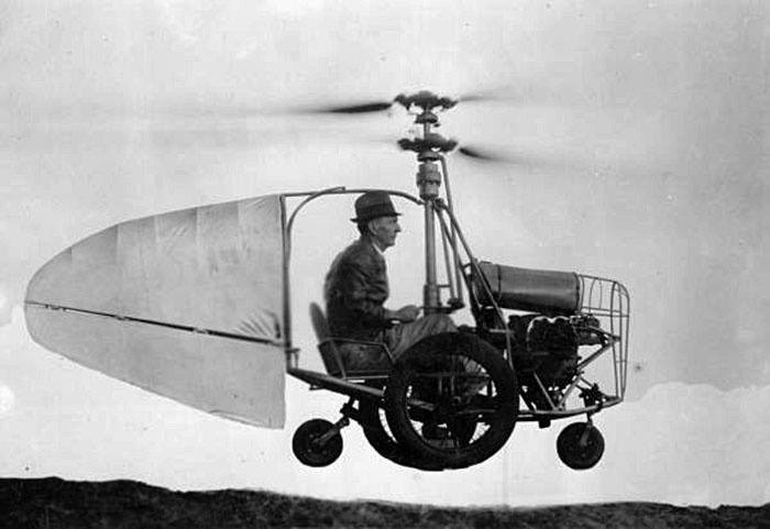 Jess Dixon's Flying Automobile (1940). Didn't catch on because of insufficient hat room.